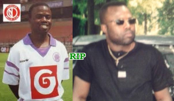 nigerian footballer dies brussels germany