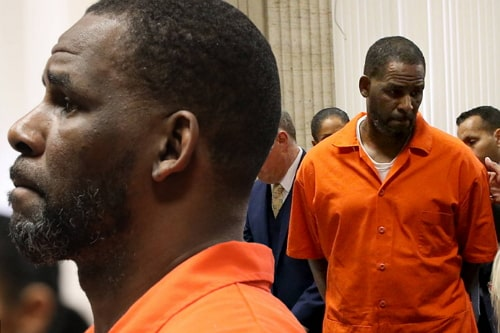 r kelly in prison uniform