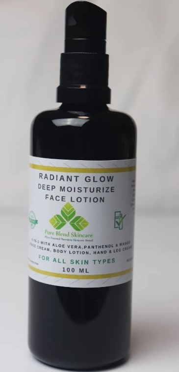 radiant glow lotion