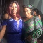 Regina Askia On Vacation In Nigeria...Thrills As Actress Reunites With Colleagues (Photos)