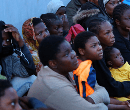 30 nigerian ladies rescued mali
