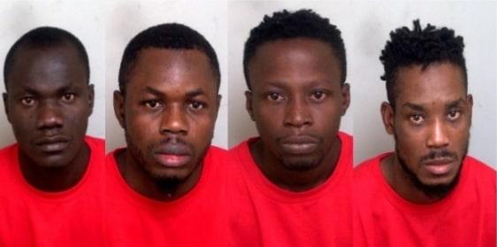4 nigerians entered uk ship jailed
