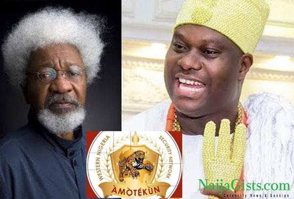 yoruba land security network amotekun