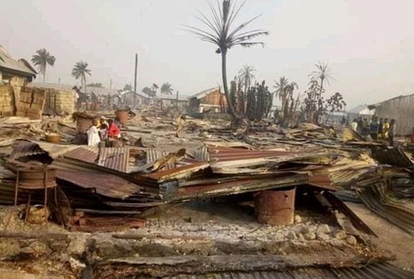 arsonists attack in nigeria