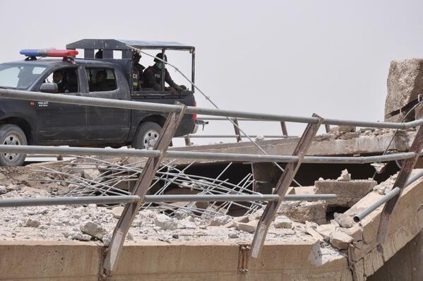 boko haram destroyed gamboru ngala bridge