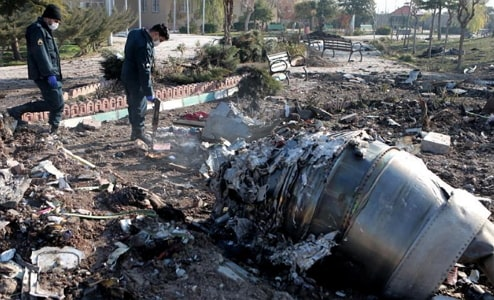 did iran shoot down ukranian plane