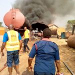 Petrol Tanker Explosion At Awka Anambra State Mechanic Workshop[PHOTOS]