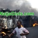 Several Killed As Petrol Tanker Exploded Near Burning Bush In Benue State