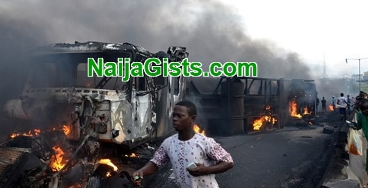 fuel explosion benue state