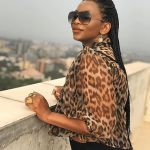 Genevieve Nnaji Supports Amotekun In New Photos