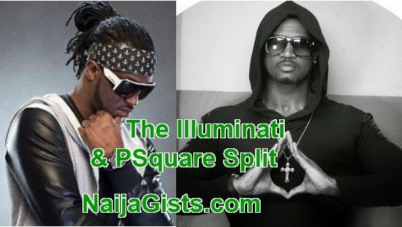 illuminati caused psquare split