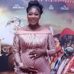 Heavily Pregnant Mercy Johnson Thrilled As First Self-Produced Movie Premieres