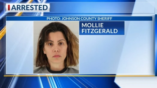 mollie fitzgerald arrest mug shot