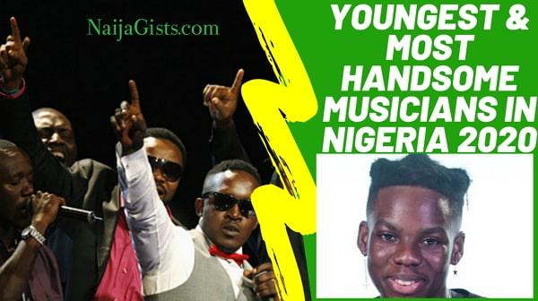 most handsome musicians nigeria 2020