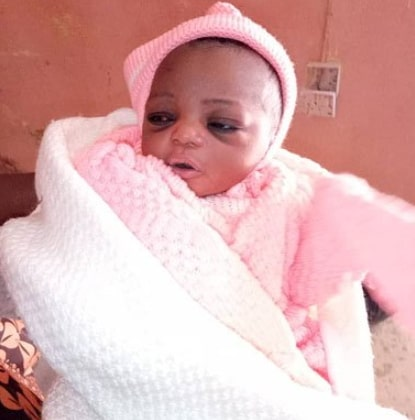 mother dumps baby roadside minna niger state