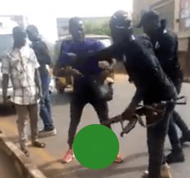 policemen attack yahoo boy enugu