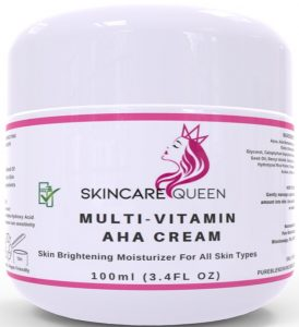Introducing Skincare Queen AHA Body Cream - Effective Skin Brightening Moisturizer