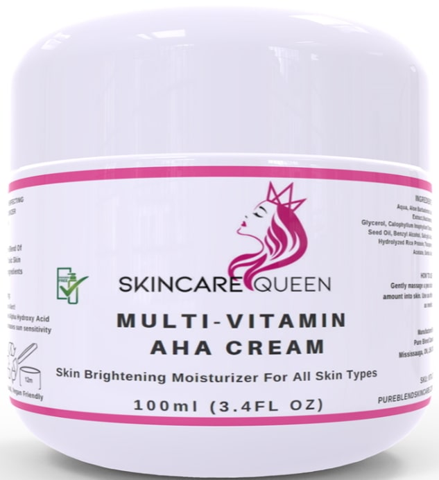 skincare queen multi vitamin aha cream