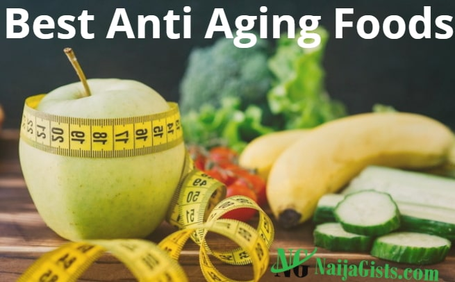 best anti aging foods younger looking skin