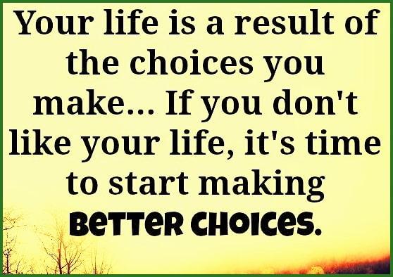 decision determines destiny