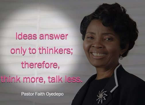 faith oyedepo quotes messages