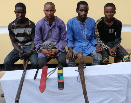 fulani kidnappers arrested abuja