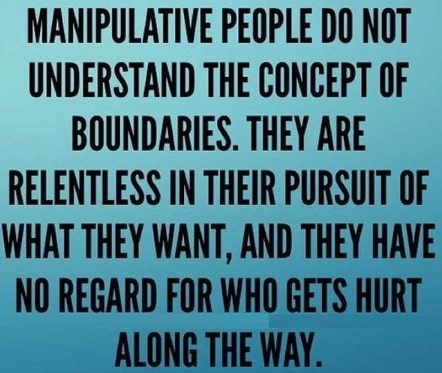 habits of manipulative abusive people