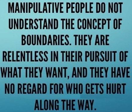 habits of manipulative abusive people