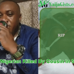 nigerian killed by cousin south africa