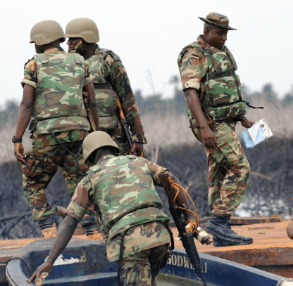 pirates kill 4 soldiers bayelsa state