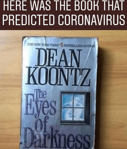 the book that predicted coronavirus