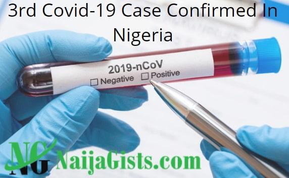3rd covid 19 case nigeria