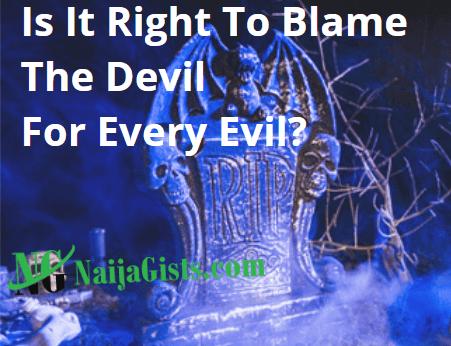 blame devil evil