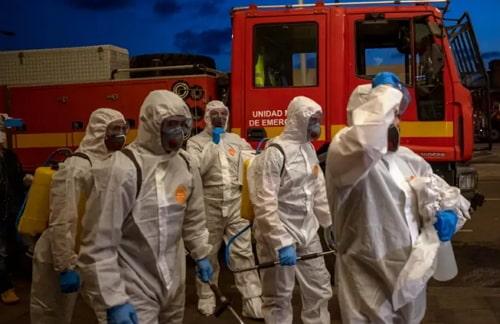 coronavirus death toll spain