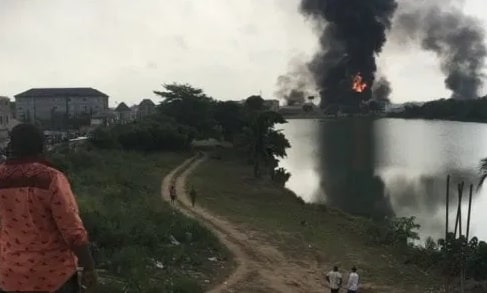 what caused abule ado lagos pipeline explosion