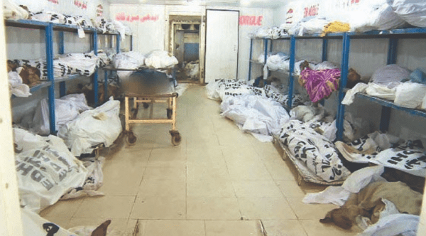 corpses abandoned mortuaries imo state