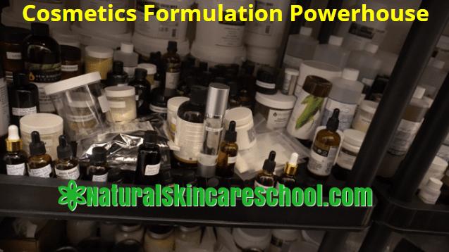 cosmetics formulation powerhouse