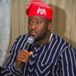 Nigerians Slam Nollywood Politician Desmond Elliot Over Makeshift Handwashing Station