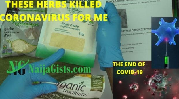 herbs that kills coronavirus