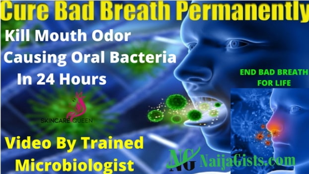 how to kill oral bacteria causing bad breath