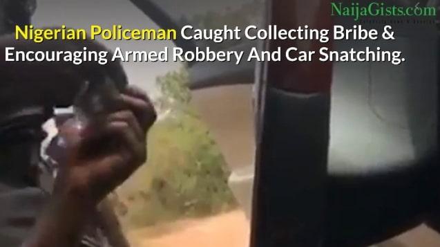 nigerian police man says God encourages robbery