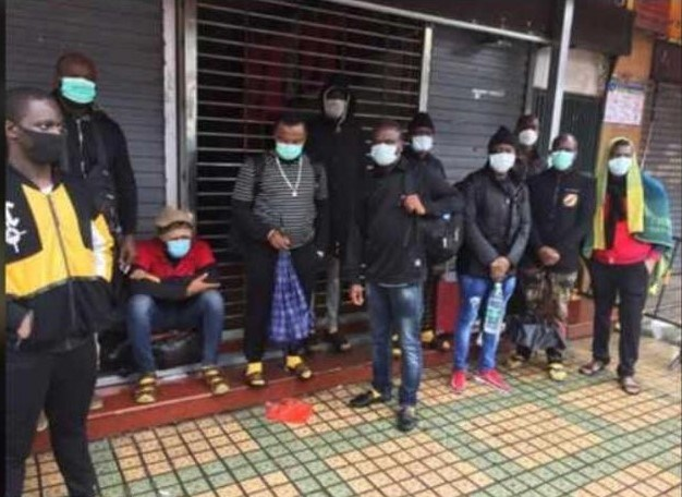 nigerians chased out of china