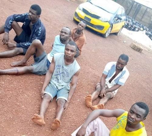 robbers arrested enugu