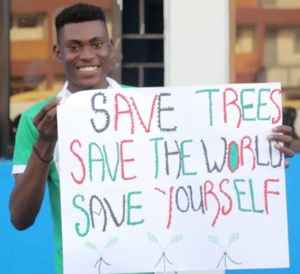 save trees save world save yourself