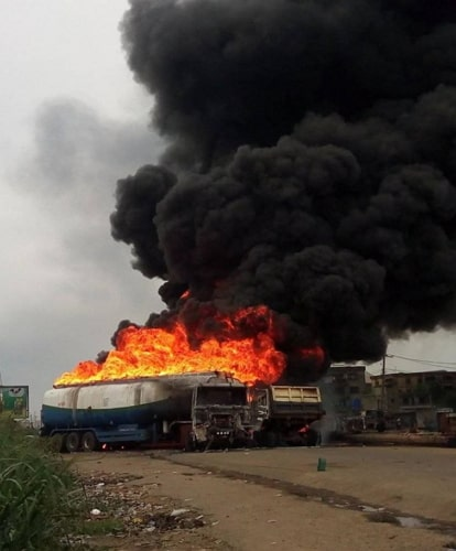 tanker explosion aba abia state