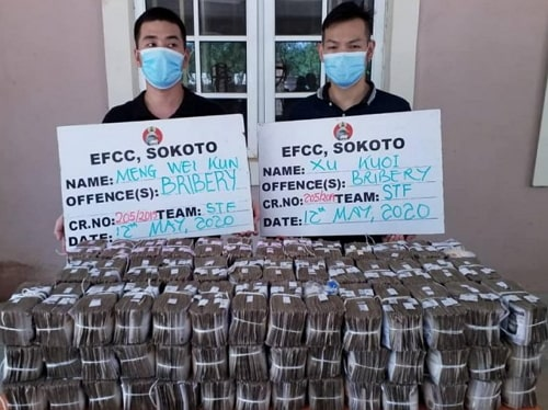 chinese businessmen offers bribe efcc kano