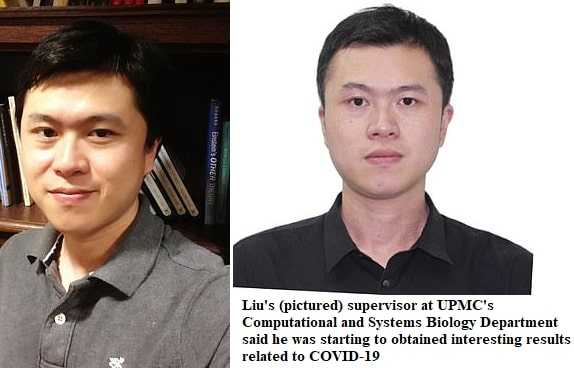 chinese covid researcher murdered usa