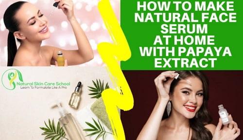 diy natural face serum