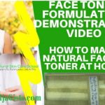 face toner formula recipe