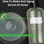 How To Make Professional All Natural Anti Aging Facial Serum [Demonstration Video]